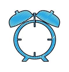 analog alarm clock icon image vector image vector image