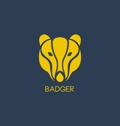 Badger logo vector