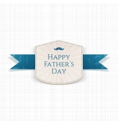 Happy fathers day modern graphic label vector
