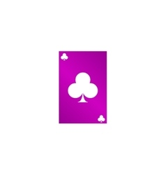 Playing Card Suit Icon Symbol Set vector image