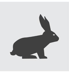 Rabbit icon vector image vector image