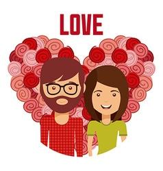 Family love vector