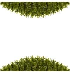 Christmas Tree Borders vector image