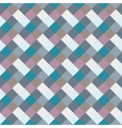 Seamless geometric checked pattern diagonal vector