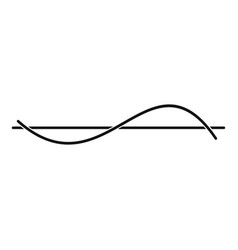 Equalizer meter icon simple black style vector