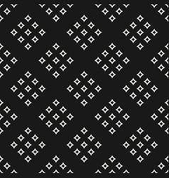 geometric seamless pattern with small diamond vector image