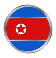 Flag of north korea vector