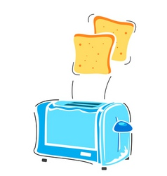 Toaster with slice vector