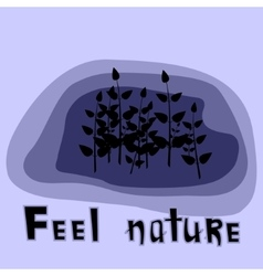 Feel nature vector