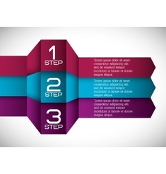 Infographic icon steps design graphic vector