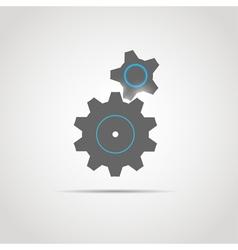 Glowing Gears copy vector image