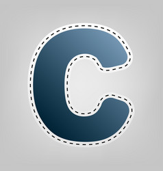 letter c sign design template element vector image