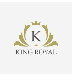 King placeboutique brandreal estateproperty vector