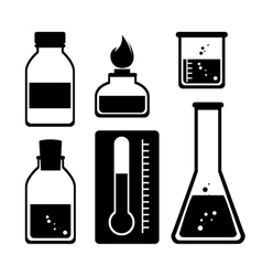 Chemical industry design vector