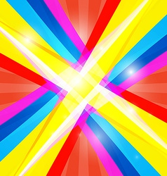 Abstract colorful retro shiny colorful background vector