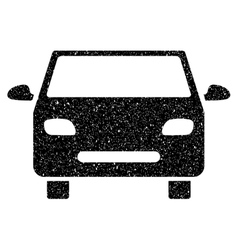 Car Grainy Texture Icon vector image