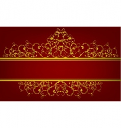 decorative design vector image vector image