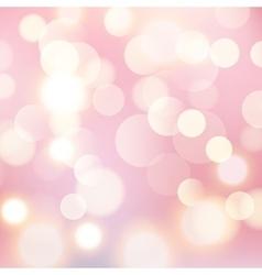 Light bokeh background Glow shiny bright design vector image vector image