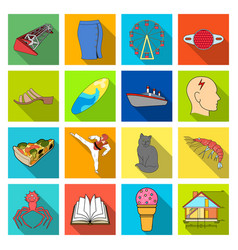 Progress tourism textiles and other web icon in vector