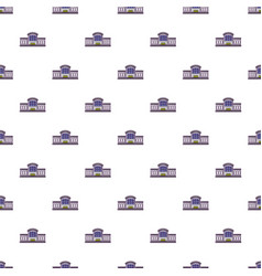 Railway station pattern seamless vector