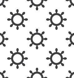ship wheel seamless pattern vector image