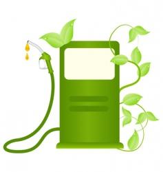 eco fuel concept vector image