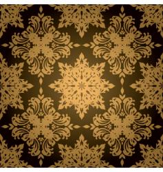 Gothic gold leaf vector
