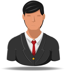 Business man icon cartoon vector