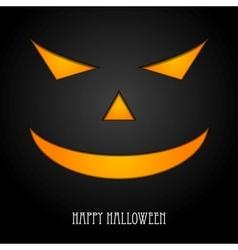 Halloween monster mask design vector