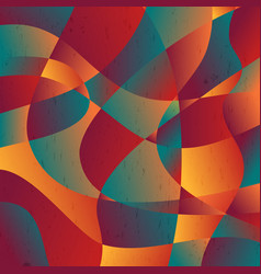 Abstract colorful curve shape background vector