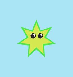 Sea star caribbean starfish vector