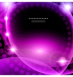 Shiny purple abstract background vector image