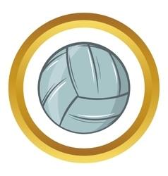 Volleyball icon cartoon style vector