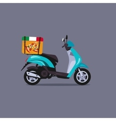 Scooter motorbike vector