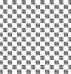Checkered monochrome seamless pattern vector