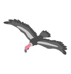 eagle icon isometric style vector image