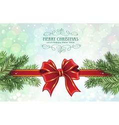 Festive christmas background vector