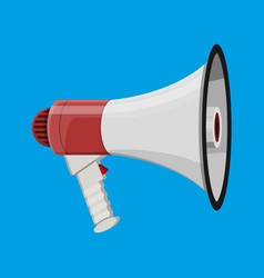 Loudspeaker or megaphone announcement element vector