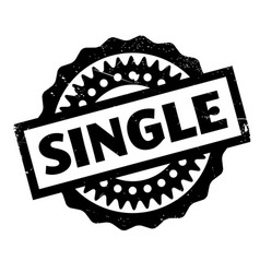 Single rubber stamp vector