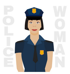 police officer image vector image vector image
