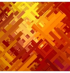 Orange glitch background vector