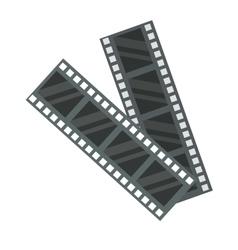 Film strip icon vector image