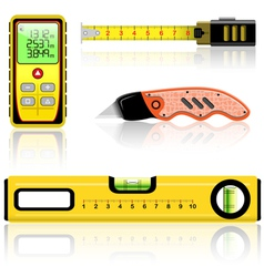 Measuring tool vector