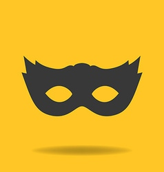 Icon of masquerade mask vector