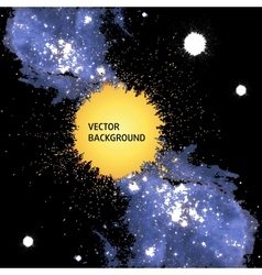 Abstract cosmic background vector image