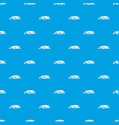 Cliff pattern seamless blue vector