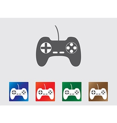 Game controller icons vector image vector image