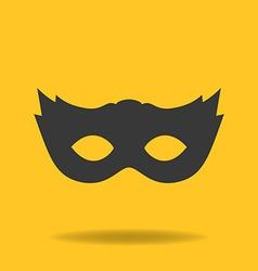 Icon of masquerade mask vector