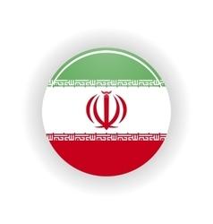 Iran icon circle vector