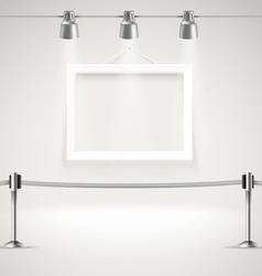 Photorealistic bright gallery vector